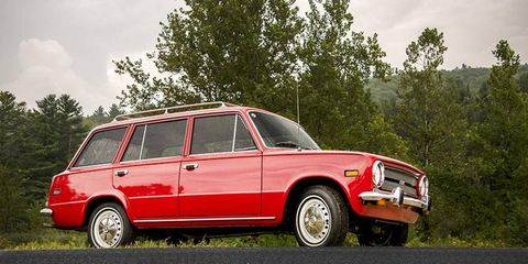 This 1974 example is one of just a dozen remaining wagons on our shores.