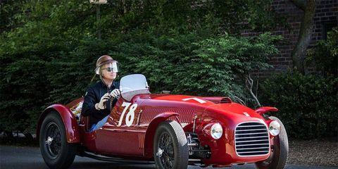 James Glickenhaus' prized 1947 Ferrari 159S Spyder Corsa -- the oldest surviving Ferrari.