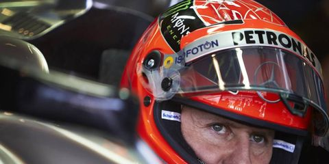Michael Schumacher's family released a statement about the driver on Thursday