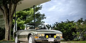 Just about a thousand V6 Cabriolets were built between 1975 and 1977, though the four-cylinder model had a much greater lifespan.