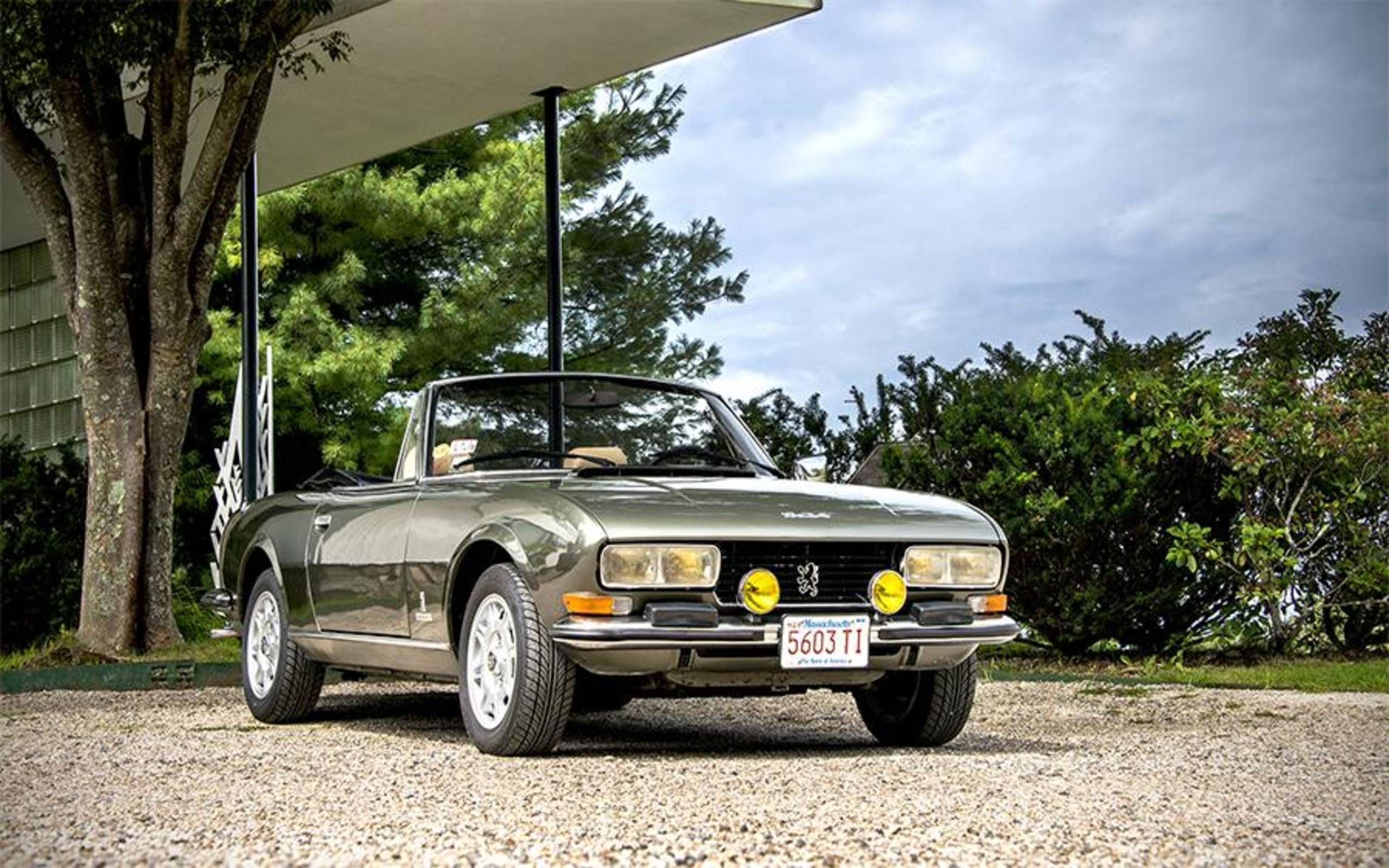 A Ride In A 1975 Peugeot 504 V6 Cabriolet