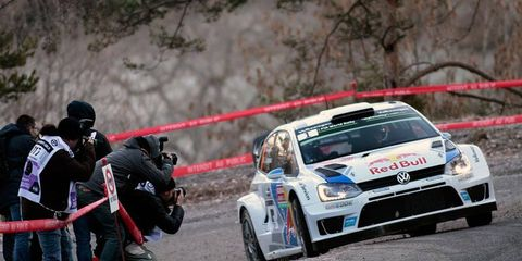 It was defending WRC champion Sébastien Ogier who took top honors and the season-opening Monte Carlo Rally on Saturday.