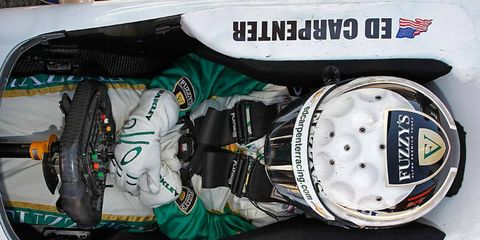 Driver/owner Ed Carpenter is hoping for big things in the 2014 IndyCar Series season.