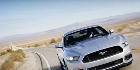 The first retail 2015 Mustang could go for record high price at Barrett-Jackson auction.