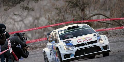 Ogier is leading the Monte Carlo Rally after making a dramatic comeback. The leader trailed by more than 30 seconds at the start of the stage.