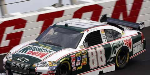 Dale Earnhardt Jr.'s Mountain Dew throwback (from Darlington in 2008) has to be on the list of NASCAR's best throwback paint schemes, right?