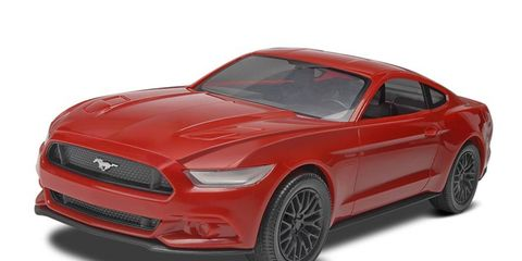 The 2015 Ford Mustang model giveaway.