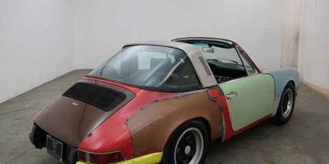 We're sorry to report that this 1972 Porsche 911T Targa is for sale on Hemmings.