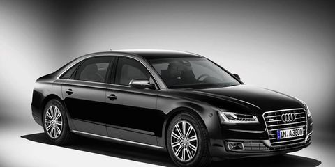 The Audi A8L Security offers the highest level of ballistic protection available in passenger cars, and can even withstand grenades.