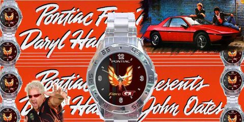 You'll always know what time it is when you're a Pontiac Fiero watch owner.