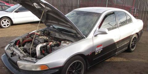 """This """"Galant Evo"""" offers an automatic transmission and dubious provenance."""