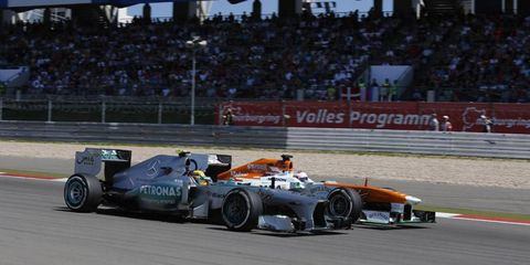 It was recently reported that Formula One CEO Bernie Ecclestone has put in a bid to buy the Nürburgring.
