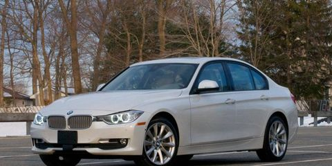 The powertrain in the 2014 BMW 328d xDrive sedan was better than we expected.