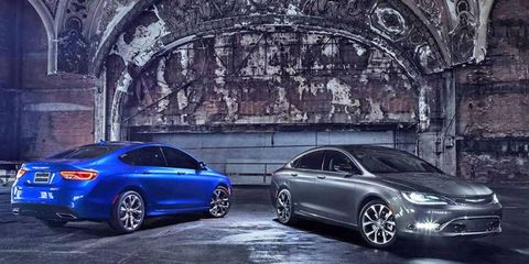 Pricing for the 2015 Chrysler 200 sedan starts at $22,695, but you can apparently max the car out at around $38,550 if you're so inclined.