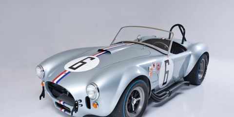 This 1965 Shelby 427 Competition Cobra is expected to bring around $2 million at the Mecum Auction in Kissimmee, Fla.