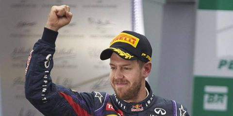 It is being reported that Sebastian Vettel's girlfriend has given birth to a daughter in Switzerland.