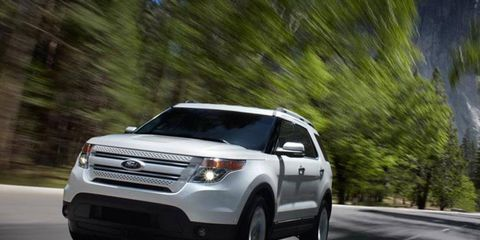 The 2014 Ford Explorer has amazing cargo capacity that makes it feel almost van like.