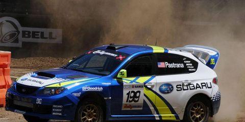 Travis Pastrana has plenty of experience driving for Subaru.