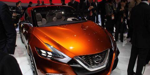The Nissan Sport Sedan Concept previews future design language.