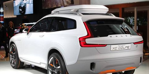 The 2014 Volvo Concept XC Coupé makes its debut at the Detroit auto show.