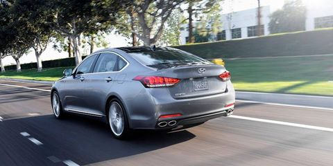 When you're feeling zippy, the new Genesis will apportion 90 percent of its torque to the rear wheels.