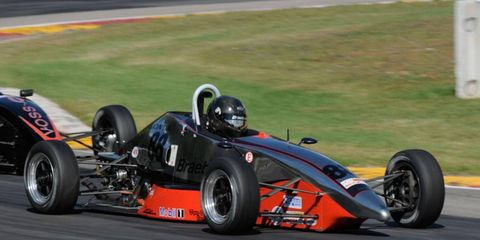 For many young racers, Formula F is the first step on the road to IndyCar.