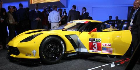 Corvette Racing has two Chevrolet Corvet C7.R race cars entered in the upcoming Rolex 24 Hours at Daytona.