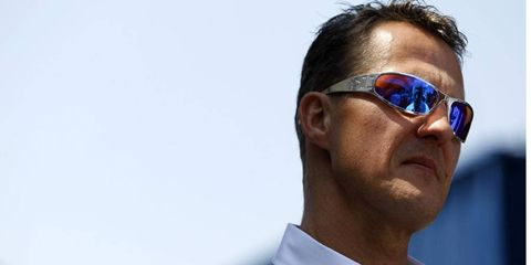 Michael Schumacher remains in 'stable yet critical' condition after a skiing accident.