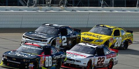 Pack racing in practice and test sessions will be the norm in the NASCAR Nationwide Series as the series plans to eliminate all single-car qualifying runs this season.