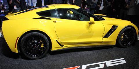 The 2015 Corvette Z06 made it's public debut at the Detroit auto show.