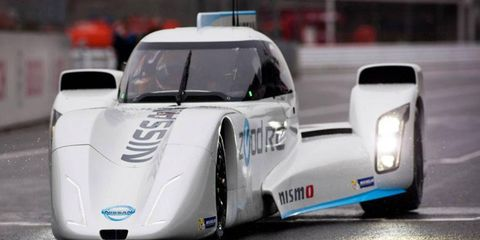 Nissan is considering entering the ZEOD RC electric car in the 2015 World Endurance Championship.