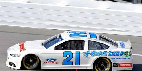 Trevor Bayne has 118 career starts in the NASCAR Nationwide Series.