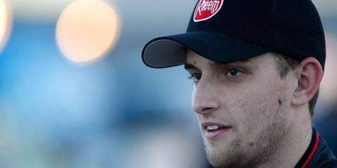 James Buescher is ready for his full-time shot in the NASCAR Nationwide Series with RAB Racing and with his sponsor Rheem.