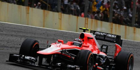 Mas Chilton scored no points during his rookie season for Marussia in 2013.