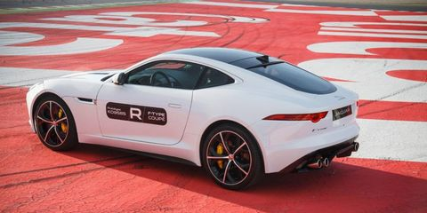 The Jaguar F-Type R Coupe isn't cheap, but it competes closely with machines twice its price.