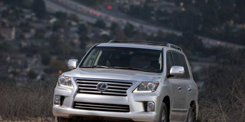 The 2014 Lexus LX 570 can haul just about anything.