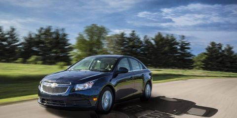 The 2014 Chevrolet Cruze Diesel is an enjoyable ride.