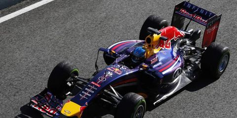 Sebastian Vettel only put in 11 laps during testing a Jerez at Formula One's first session.