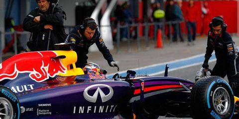 Sebastian Vettel managed just 11 laps in testing at Jerez before he left Spain.