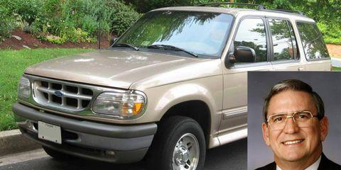 The Ford Explorer became a smash hit under Roberts' leadership.