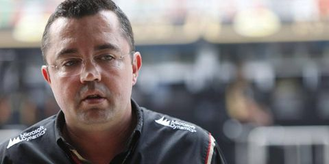Eric Boullier will try to turn around the fortunes of the struggling McLaren F1 team.