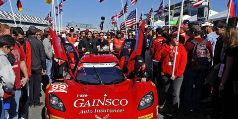 Memo Gidley, who was in an awful wreck on Saturday at the Rolex 24, has undergone surgery to address a compression fracture in his back.