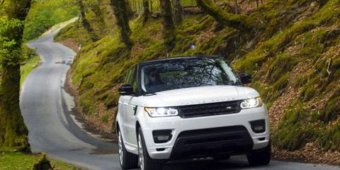 The 2014 Land Rover Range Rover Sport HSE is a lot of vehicle for the money.