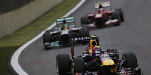 Teams like Red Bull and Mercedes have not yet revealed their 2014 cars.