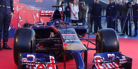Toro Rosso launched its 2014 Formula One car today.