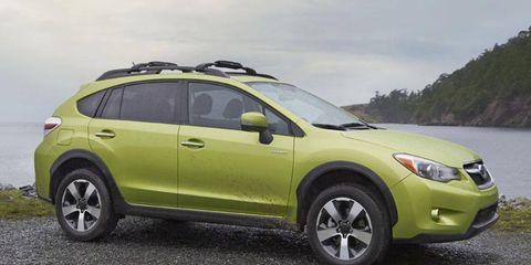 The Subaru XV Crosstrek will be offered with EyeSight.