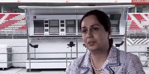 Monisha Kaltenborn hopes to see her Sauber Formula One team improve upon its seventh-place standing in the F1 Constructors' Championship.