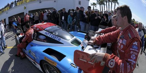 The Rolex 24, which kicks off at 2:30 p.m. on Saturday, is the first race of the Tequila Patron North American Endurance Cup.