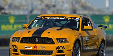 Jade Buford's pole-winning time broke his own track record at Daytona International Speedway.