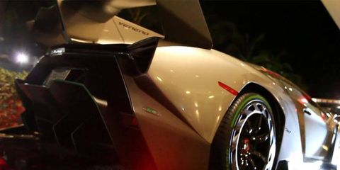 This Veneno was delivered to Kris Singh.